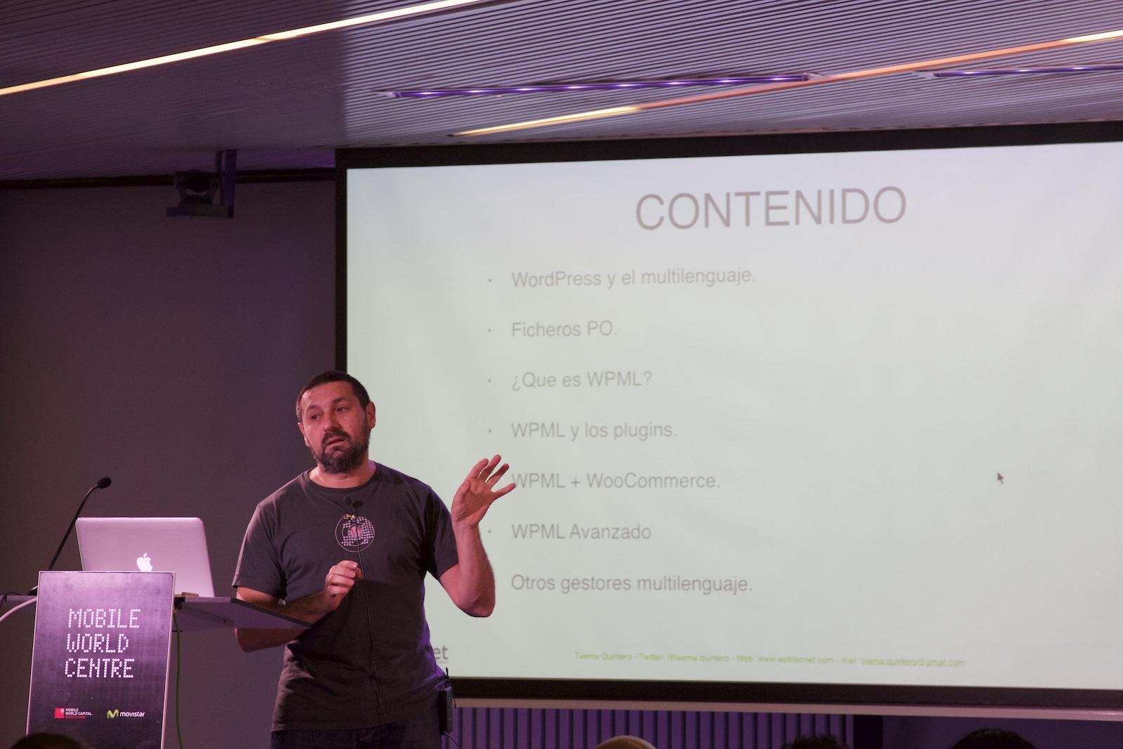 Contenido de la Meetup Multiidioma WPML